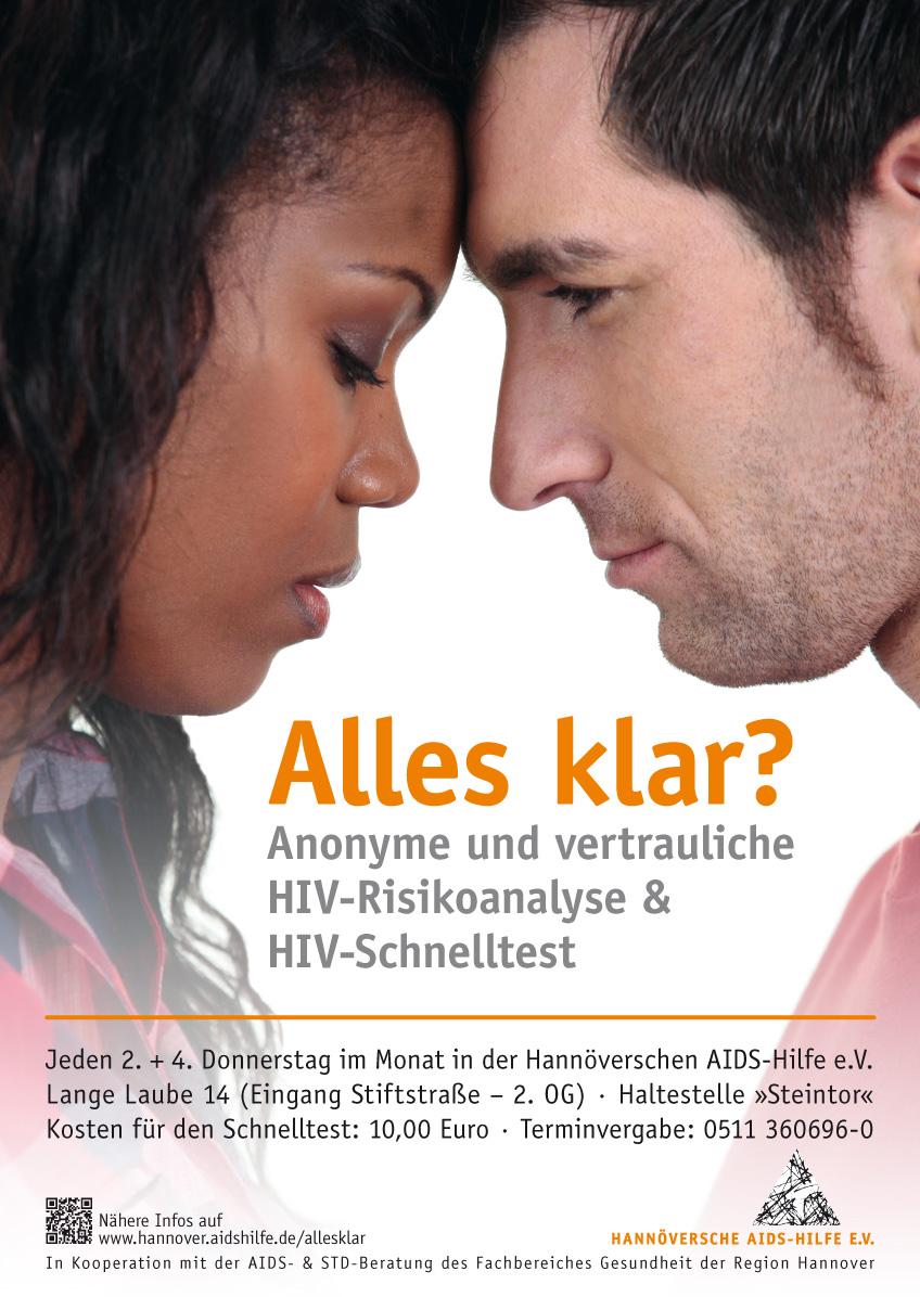 HIV-Test (Schnelltest) und HIV-Risikoanalyse in Hannover