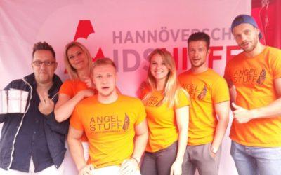 Spendenaktion mit vielen Engeln