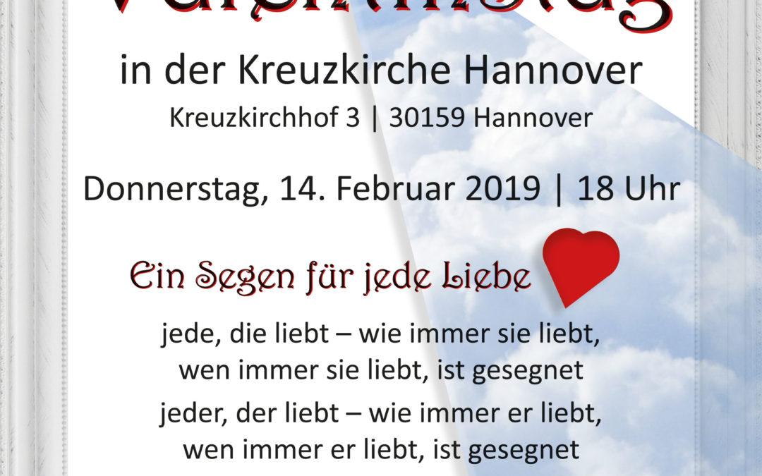 Ein Segen für jede Liebe – Valentinstag in der Kreuzkirche