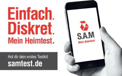 S.A.M – Mein Heimtest – Jetzt auch in Niedersachsen nutzbar